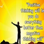 Six Things Positive People Say in Adversity!