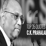 'You cannot lead unless you are future-oriented' – 35 quotes from business guru C.K. Prahalad