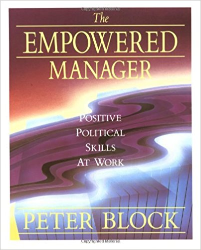 the empowered manager  positive political skills at work  jossey-bass management