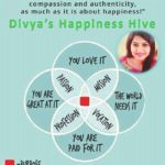 """'DIVYA'S HAPPINESS HIVE' – """"It's all about a life of purpose with dignity, compassion and authenticity; as much as it is about happiness!"""""""